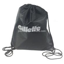 190T 210D Silk Printing Gillette Sport Drawstring Bag