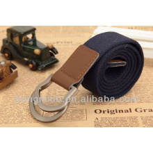 Durable quality sport iterm comfortable imprint logo canvas belt