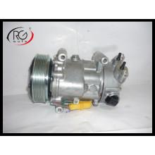 Compresor de aire acondicionado 6c12 para Citroen C3 / C4 Peugeot 207/307/308 OEM 6453qj / 6453qk / 6453wk