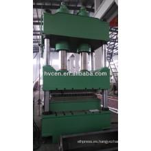 1000T Máquina hidráulica de la prensa de cuatro columnas