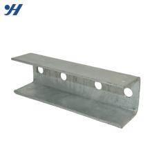 Suporte de parede galvanizado aço da forma do canal U