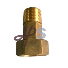 Acoplamento de conexão do medidor de água com rosca de bronze
