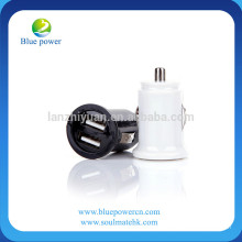Hottest mobile phone accessories supplier dua usb car charger, best price wholesale car usb charger