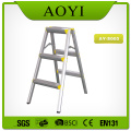 Aluminum folding step stool