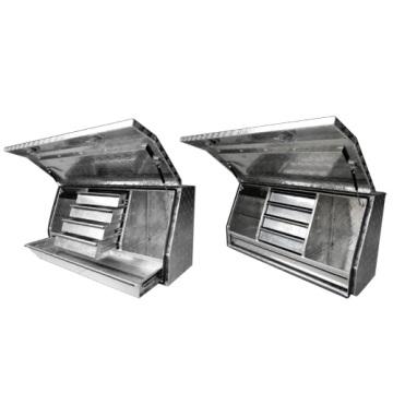 Ящик для инструментов общего хранения алюминия грузовик