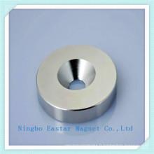 N45 Aimant de NdFeB anneau pour haut-parleur