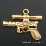 Gold Coated Charm Pendant (P00196)