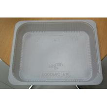 Plateau jetable en plastique de boursouflure pp pour le biscuit, plateau de boursouflure