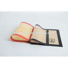 custom made silicone rubber bbq baking oven liner mat