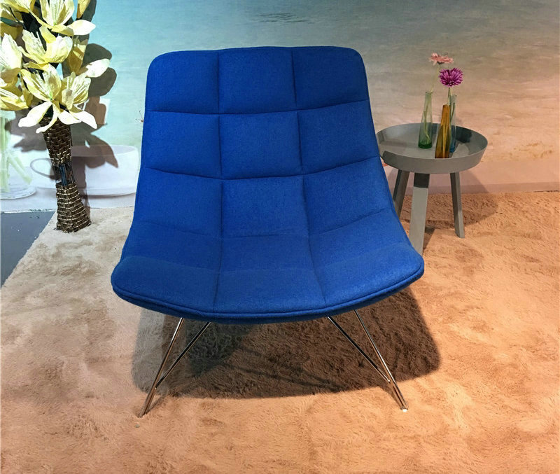 Lounge Chair in fabric