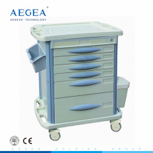 AG-MT003B3 mobile rolling grade patient drug storage movable hospital medical utility cart