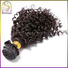 Заводская цена питания 100% Девы не клубок пролить перуанский волос кудрявый локон