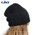 Bonnet sans fil Bluetooth Beanie Hat doux et chaud