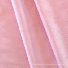 Home Decoration Polyester Suede Fabric for Sofa and Curtain