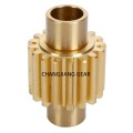 High Precision DIN8 Lever Tin Bronze Spur Gear