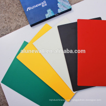 Panel decorativo de plástico impermeable / paneles acp