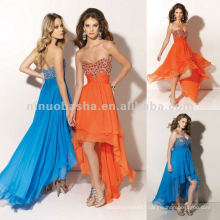 NY-2355 Beaded bust chiffon quinceanera dress