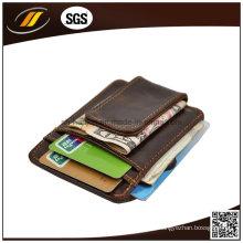 Günstige Leder ID-Kartenetui, Leder Kreditkarteninhaber