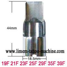 punta de tatto profesional de acero inoxidable de alta calidad