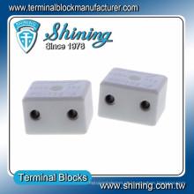 TC-Series 15A 20A 50A 65A Bloco de terminais cerâmicos de porcelana de termopar