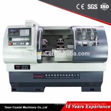 grande máquina de torno CK6136A-2 CK6136A-2 / 750mm do torno do cnc do diâmetro do balanço