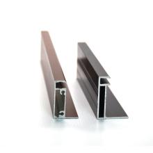 PV aluminium solar frame profile factory manufacturer, custom anodized aluminum solar panel frame