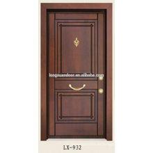 Puerta de amoured turco chino de la fábrica, puertas de madera turcas
