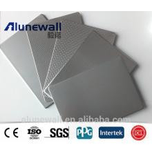 Panel compuesto plástico del acero inoxidable de Alunewall 6-8m m chino fábrica