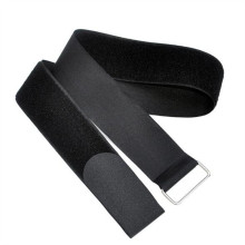 Black reusable Medical elastic hook and loop