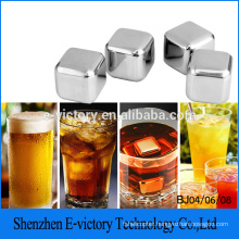 Whisky Stone Rocks Stainless Steel Whisky Cube Gift Ice Cube From Factory