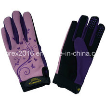 New Design Lady Gardening Working Safety Synthetic Leather Gloves