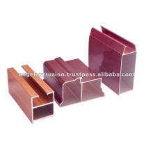 Aluminiumprofil für den Bau