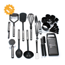 6pcs Hot Sales Nylon kitchen Utensil Sets with Non-slip Handle
