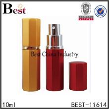 новый косметики 2015, 10 мл низкая цена цветное стекло спрей духи бутылки, из alibaba Китай