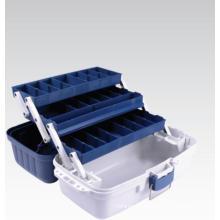 Nova caixa de equipamento de pesca de três bandejas