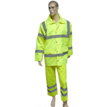 Reflective Safety Suit with Jacket and Pants