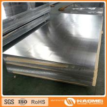 6061 T6 Feuille fini en alliage d'aluminium en alliage simple