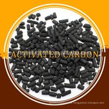 Tratamento de gases residuais à base de carvão 3 milímetros de carvão ativado em colunas