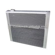 Échangeur de chaleur en alliage d'aluminium pour machines de construction