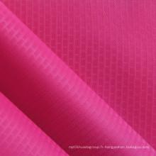 Tissu en polyester PVC / PU grille grille