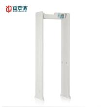 Walk Through Metal Detector Door Frame Metal Detector Scanner Support CCTV Camera