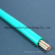 Câble électrique en cuivre d'intérieur utilisé 4mm2