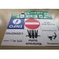 Corrugated Plastic Custom Sign Boards Digital Printing