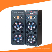 Doble 10 pulgadas Powered DJ Speaker 2.0 altavoz profesional 632A