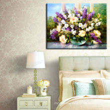 Modern Decoration Flower Oil Painting on Canvas