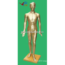 178cm Antique human medical chinese acupuncture model bronze
