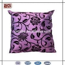 Almofadas confortáveis e elegantes da cor clara do algodão do jogo almofadas