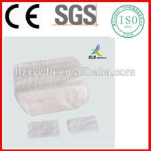 Sopro cosmético não tecido da almofada de algodão da remoção da composição de Spunlace