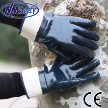 NMSAFETY Hycron Heavy duty construction gloves/safety gloves good quality from China