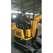 Mini escavadeiras hidráulicas de esteira com aprovação CE
